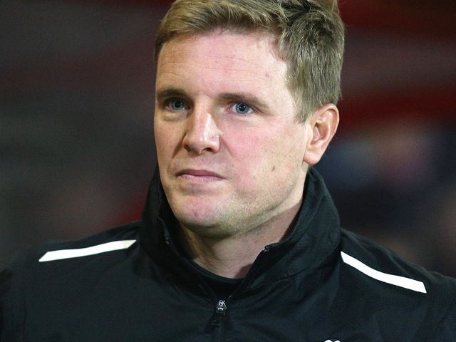 Eddie Howe watched his side romp home by five goals