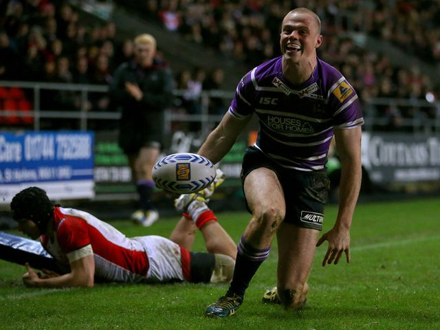 Joe Burgess: Four tries for Wigan