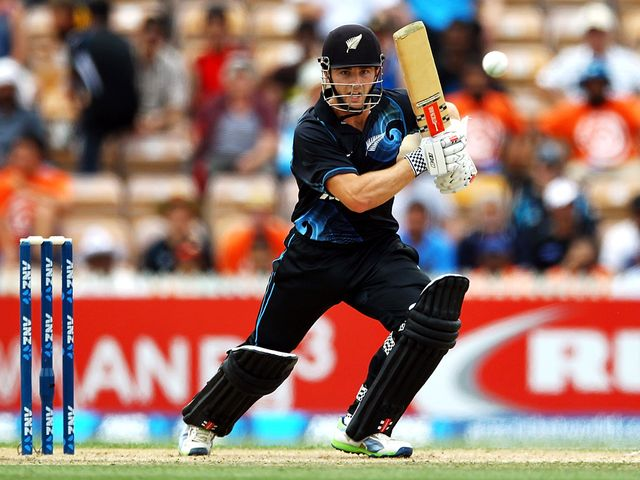 Kane Williamson: Top scored for New Zealand with 77