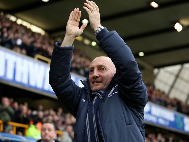 Ian Holloway saw his side fight out a goalless draw