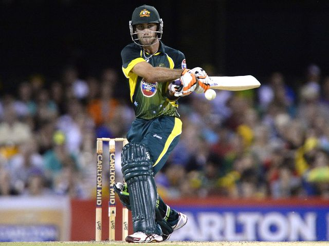 Glenn Maxwell: Continued his good IPL form