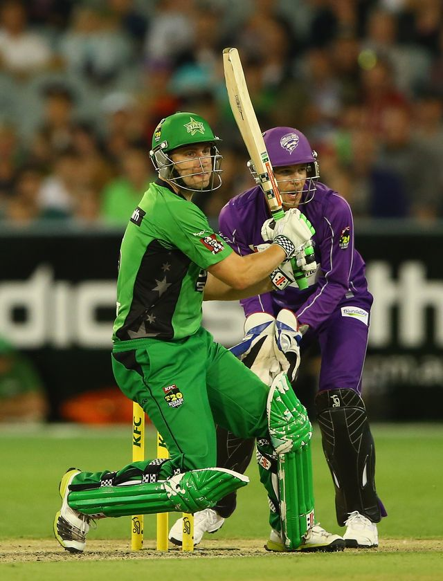 Luke Wright: Hit half-century as Melbourne Stars saw off Hobart Hurricanes