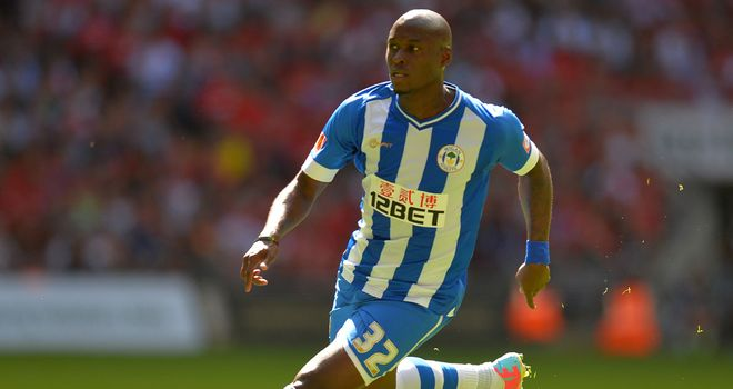 Marc-Antoine Fortune: On target for Wigan
