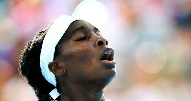 Venus Williams: The American will take on third seed Petra Kvitova next