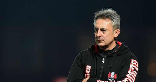 Nigel Davies: Left frustrated by defeat to already relegated Worcester