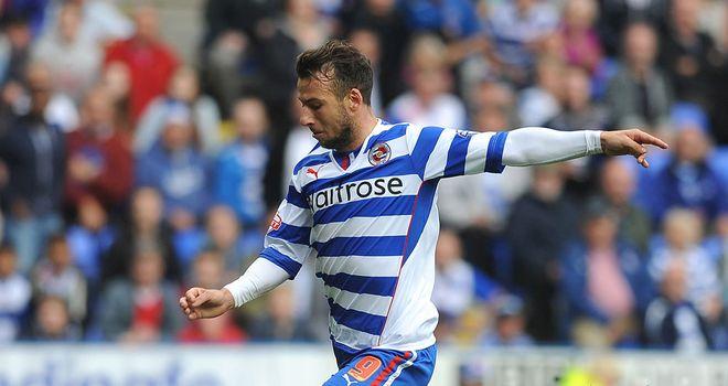 Adam Le Fondre: Reading striker gave the hosts an early lead