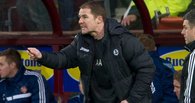 Alan Archibald: Vital victory at Tynecastle