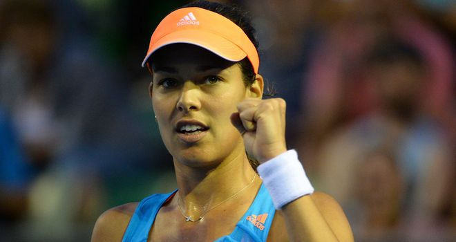 Ana Ivanovic: Made short work of Germany's Annika Beck in round two