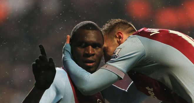 Christian Benteke: Grabbed the winner for Villa