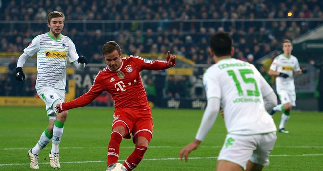 Mario Gotze: Opens the scoring
