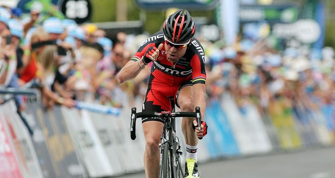 Cadel Evans: Delivered an emphatic message with a stage three victory