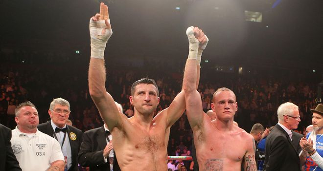 Froch and Groves: Who will be celebrating come the final bell?