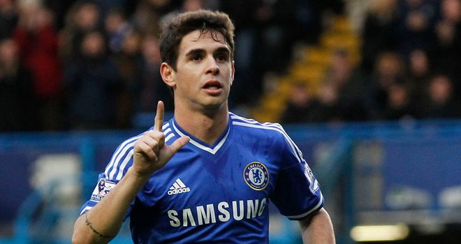 Oscar: Netted a wonderful free-kick to fire Chelsea into the fifth round