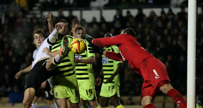 Chris Martin: Late paradise for Derby