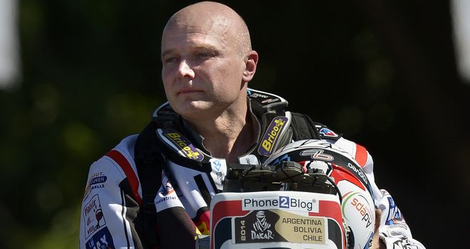 Eric Palante: The Belgian motorcycle rider was found dead at Dakar Rally