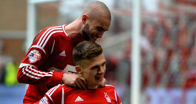 Jamie Paterson: Hit hat-trick for Nottingham Forest