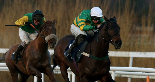 Gilgamboa (right) : Ruled out of Betfair Hurdle at Newbury