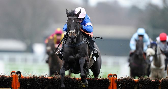 Irish Saint thrashed the opposition at Ascot