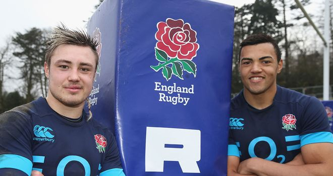 Nowell and Burrell: England debutants