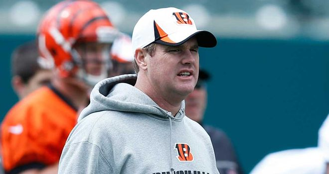 Jay Gruden: Three years as Bengals OC