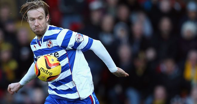 Kaspars Gorkss headed Reading to win in Watford