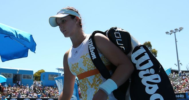 Laura Robson: Hoping to be playing some tournaments by the end of the year
