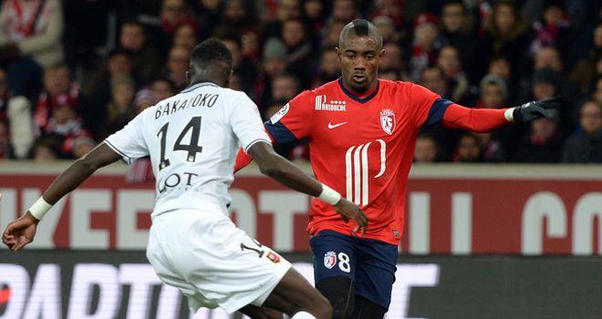 Salomon Kalou in action for Lille