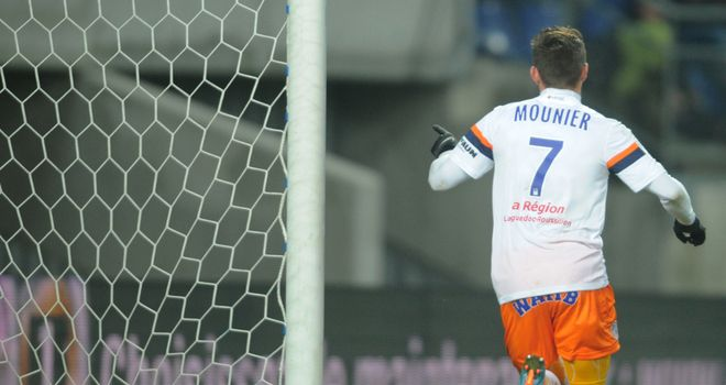 Anthony Mounier runs away to celebrate