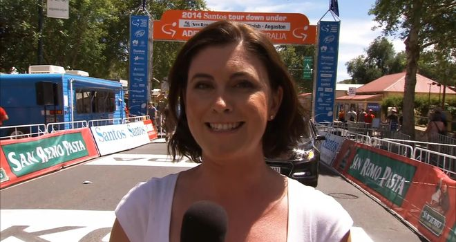 Orla Chennaoui: Behind the scenes at the Tour Down Under