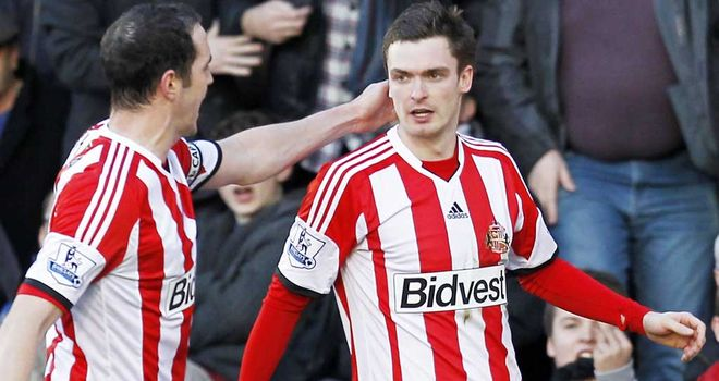 Adam Johnson: Hit the winner for Sunderland