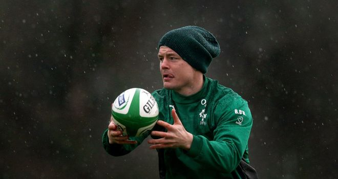 Brian O'Driscoll: Praised by Ireland captain