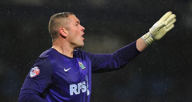 Paul Robinson: Had a busy afternoon in goal for Blackburn
