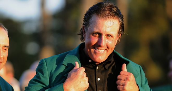 Phil Mickelson: Fantastic record at Augusta National - his favourite course