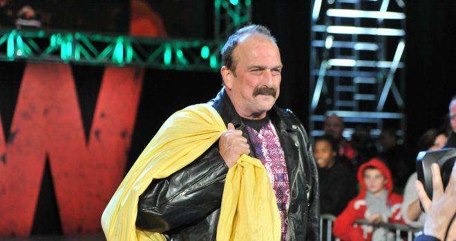 Jake Roberts brought a scaly surprise to Monday Night Raw...