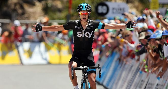 Richie Porte: Claimed a big victory on the most famous stage in Australia