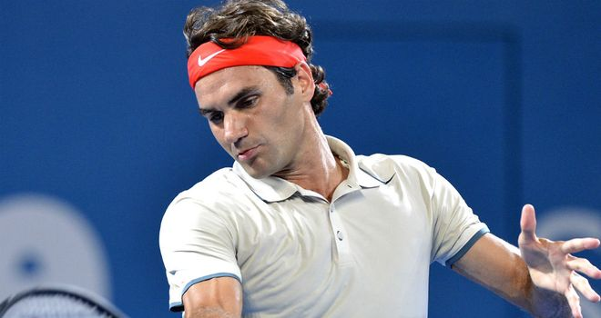 Roger Federer: Eased past Finland's Jarkko Nieminen in Brisbane