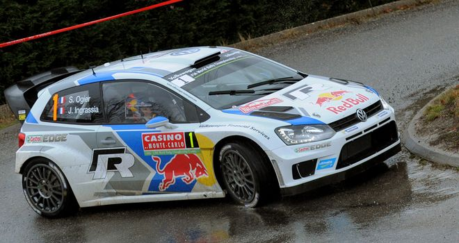 Sebastien Ogier: Won the opening rally of the season in tricky conditions