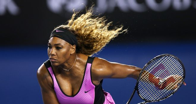 Serena Williams: Will take on Vesna Dolonc