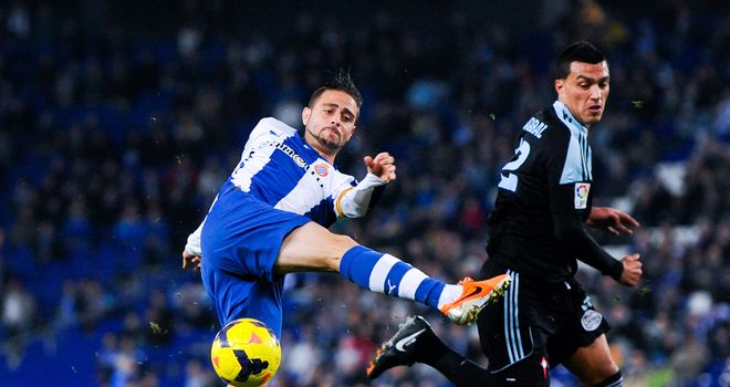 Sergio Garcia netted the winner for Espanyol