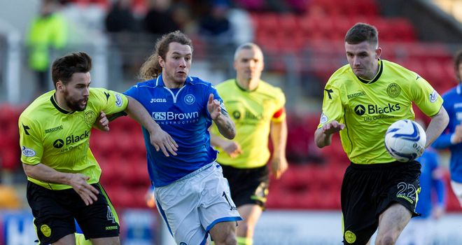 Steven May: His memorable strike sealed win for St Johnstone