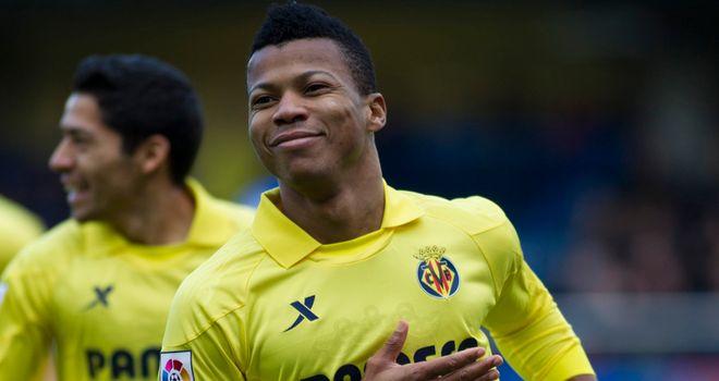 Ikechukwu Uche enjoys his goal