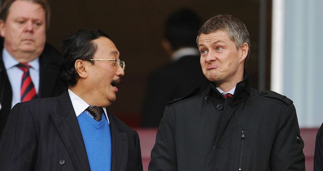 Ole Gunnar Solskjaer: Cardiff boss is backing Vincent Tan