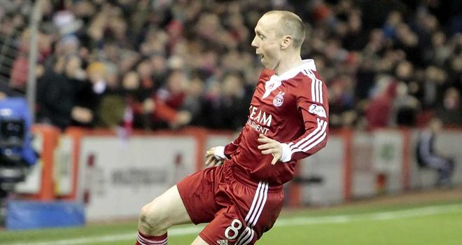 Willo Flood: Aberdeen match-winner had been told not to shoot from distance