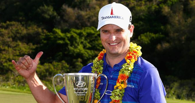 Zach Johnson: won his last two tournaments