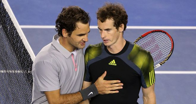 Andy Murray beat Roger Federer at last year's Australian Open