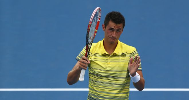 Bernard Tomic: Through to the second round after thrashing Marcel Granollers