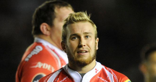 Dan Robson: Comes back in at scrum-half for Gloucester