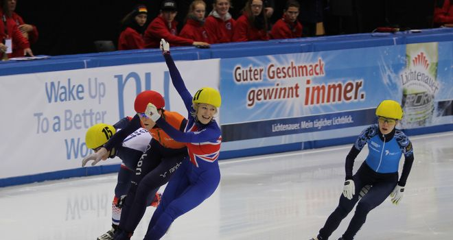 Elise Christie: European Champion
