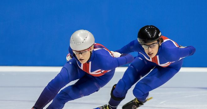 Elise Christie and Charlotte Gilmartin will be hoping for European success but the Olympics remain the priority