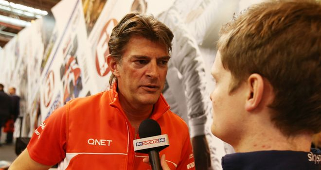 Graeme Lowdon: Pleased to have driver line-up continuity
